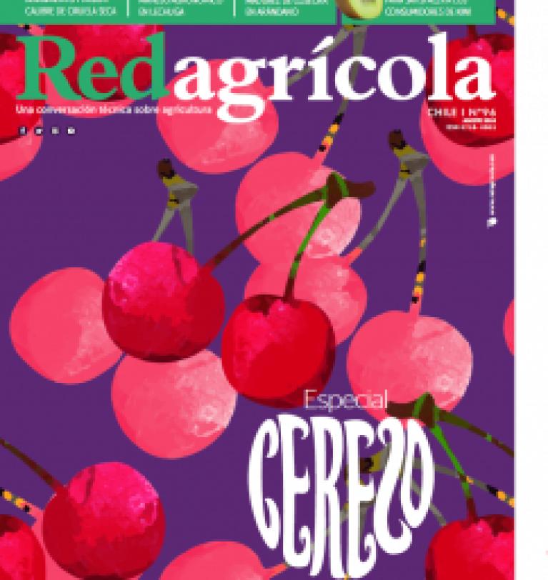 Reportaje en RedAgrícola sobre el uso del Glomus iranicum var. tenuihypharum en Cerezos