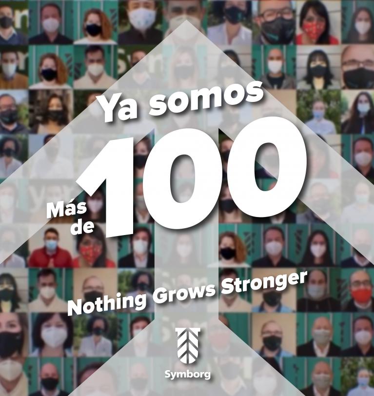 Symborg duplica en 2 años su número de trabajadores y ya supera la barrera de los 100