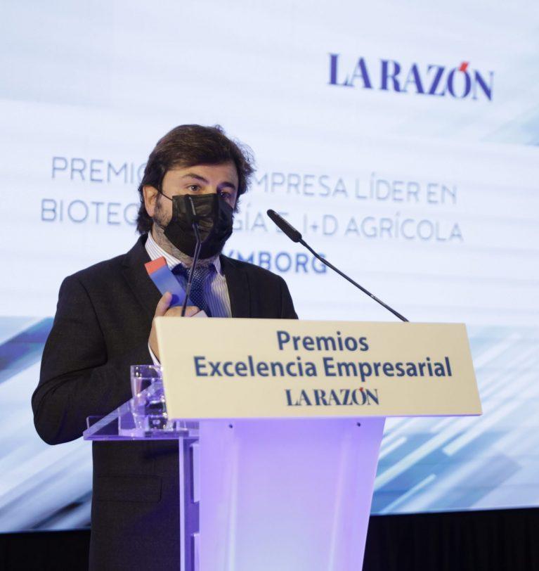 Symborg recibe el Premio Empresa Líder en Biotecnología e I+D Agrícola